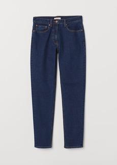 H&M H & M - Slim Ankle Jeans - Blue