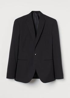 H&M H & M - Slim Fit Blazer - Black