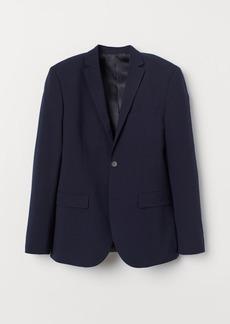 H&M H & M - Slim Fit Blazer - Blue