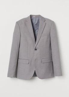 H&M H & M - Slim Fit COOLMAX® Blazer - Gray