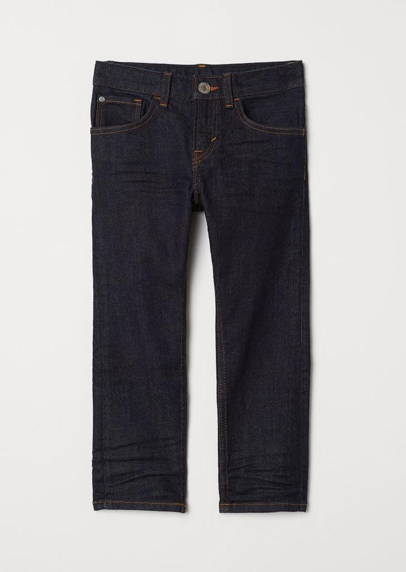 H&M H & M - Slim Fit Jeans - Blue