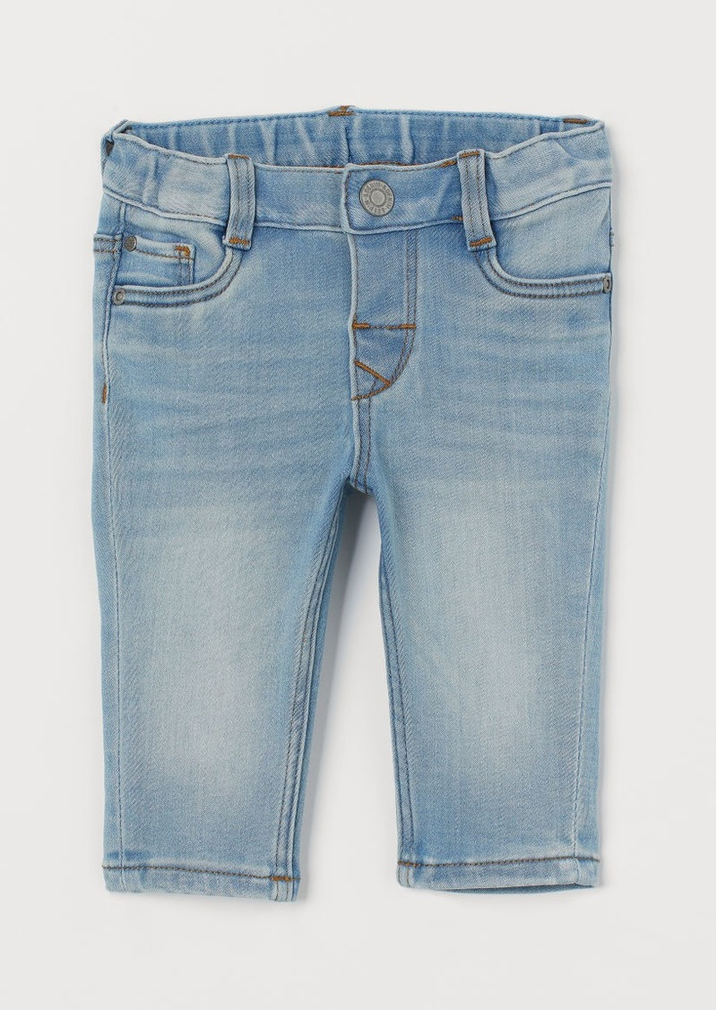 H&M H & M - Slim Fit Super Soft Jeans - Blue