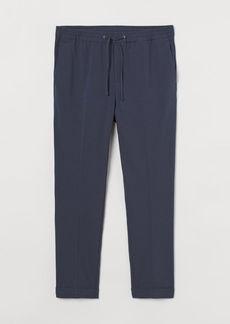 H&M H & M - Slim Fit Joggers - Blue