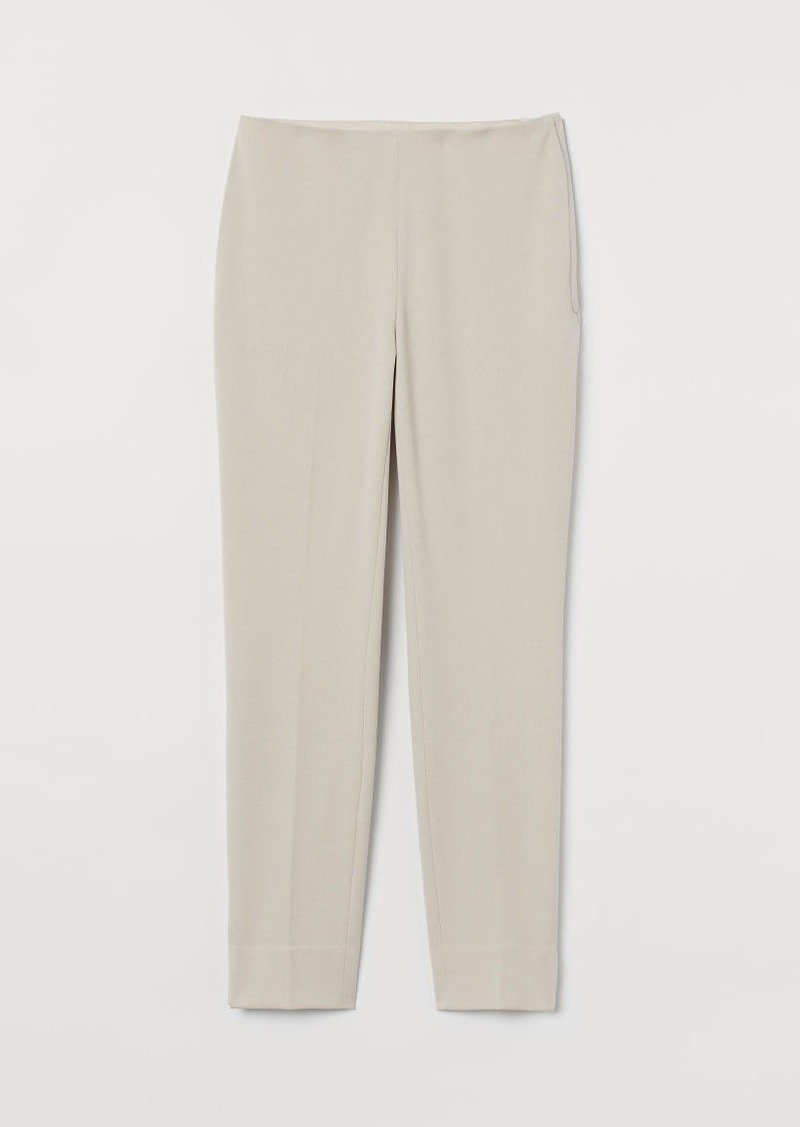 H&M H & M - Slim-fit Pants - Beige