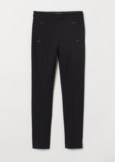 H&M H & M - Slim-fit Pants - Black