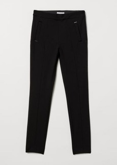 H&M H & M - Slim-fit Pants - Black