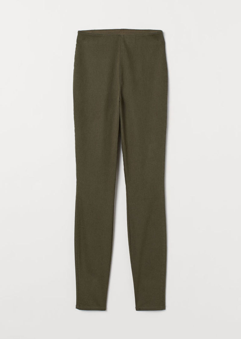 H&M H & M - Slim-fit Pants - Green