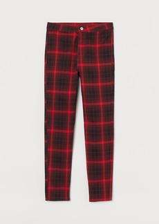 H&M H & M - Slim-fit Pants - Red