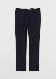 H&M H & M - Slim Fit Suit Pants - Blue
