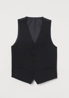 H&M H & M - Slim Fit Suit Vest - Black