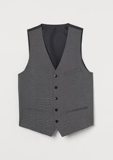 H&M H & M - Slim Fit Suit Vest - Gray