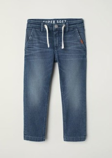 H&M H & M - Slim Fit Super Soft Jeans - Blue