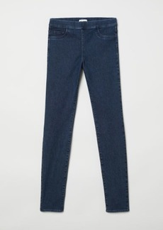 H&M H & M - Slim-fit Treggings - Blue