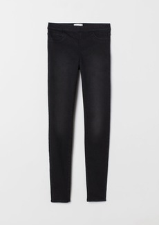 H&M H & M - Slim-fit Treggings - Gray