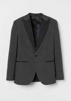 H&M H & M - Slim Fit Tuxedo Jacket - Black