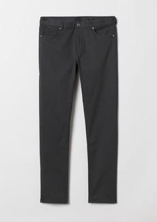 H&M H & M - Slim Fit Twill Pants - Gray