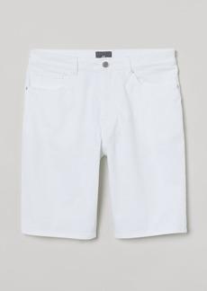 H&M H & M - Slim Fit Twill Shorts - White