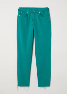 H&M H & M - Slim Mom Jeans - Green