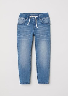 H&M H & M - Slim Pull-on Jeans - Blue