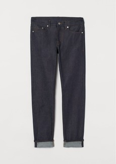 H&M H & M - Slim Selvedge Jeans - Blue