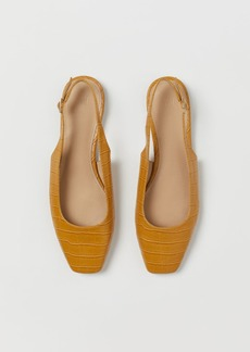 H&M H & M - Slingbacks - Yellow