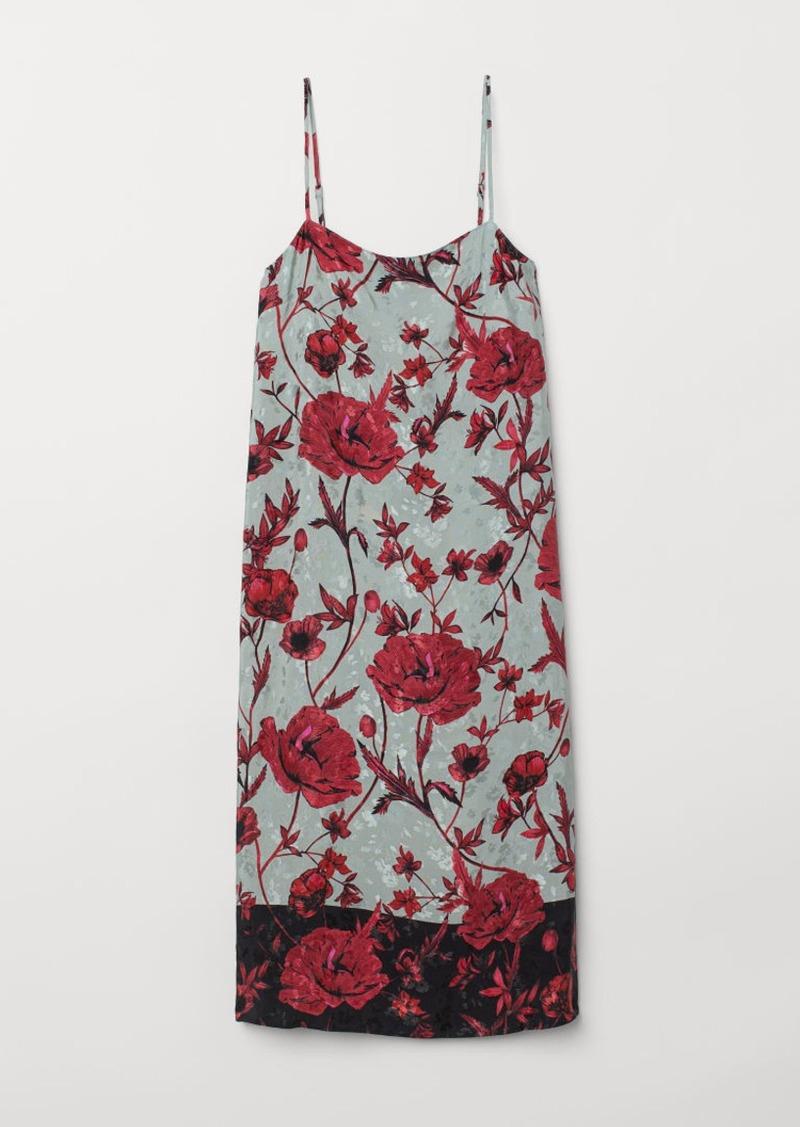 H&M H & M - Slip-style Dress - Turquoise