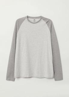 H&M H & M - Baseball Shirt - Gray