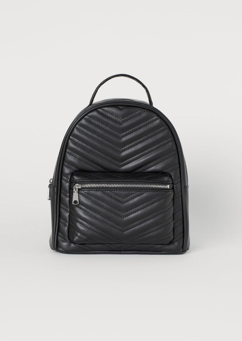 H&M H & M - Small Backpack - Black