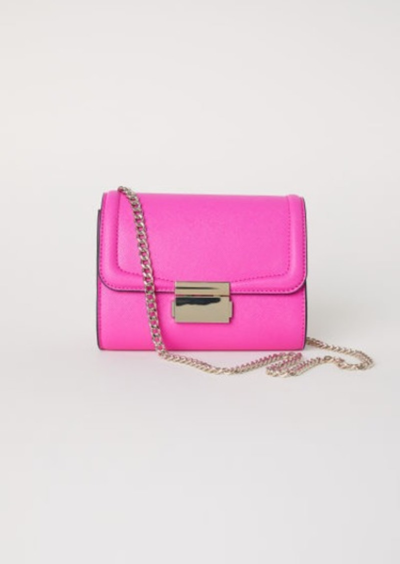 f94096729168 H M H   M - Small Shoulder Bag - Pink