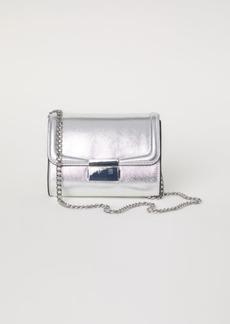 H&M H & M - Small Shoulder Bag - Silver