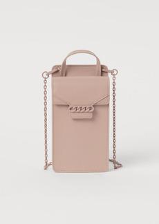 H&M H & M - Smartphone Bag - Beige