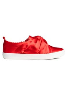 H&M H & M - Sneakers with Knot Detail - Red