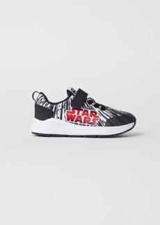 H&M H & M - Sneakers with Printed Design - Black
