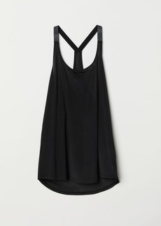 H&M H & M - Sports Tank Top - Black