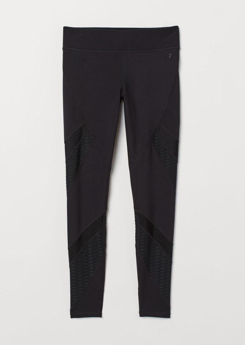 H&M H & M - Sports Tights - Black