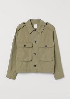 H&M H & M - Straight-cut Jacket - Green