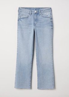 H&M H & M - Straight High Ankle Jeans - Blue