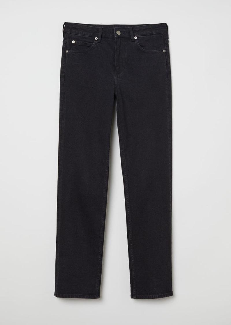 H&M H & M - Straight Jeans - Black