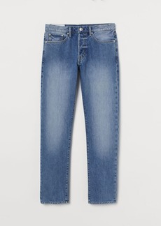 H&M H & M - Straight Jeans - Blue