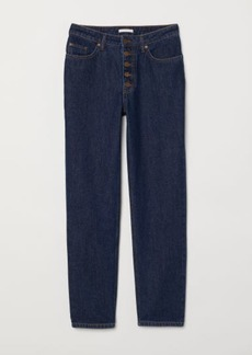 H&M H & M - Straight Jeans - Blue
