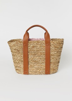 H&M H & M - Straw Bag - Orange