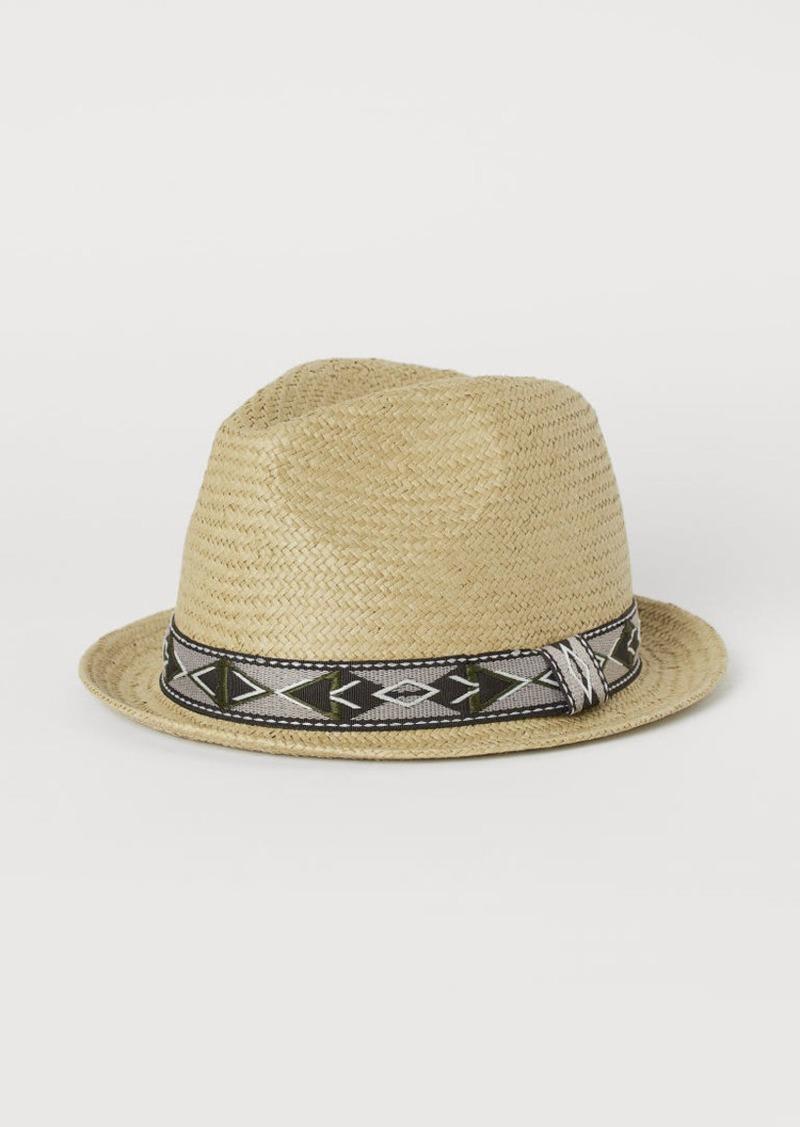 H&M H & M - Straw Hat - Beige