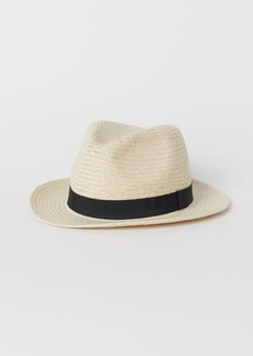 H&M H & M - Straw Hat - White
