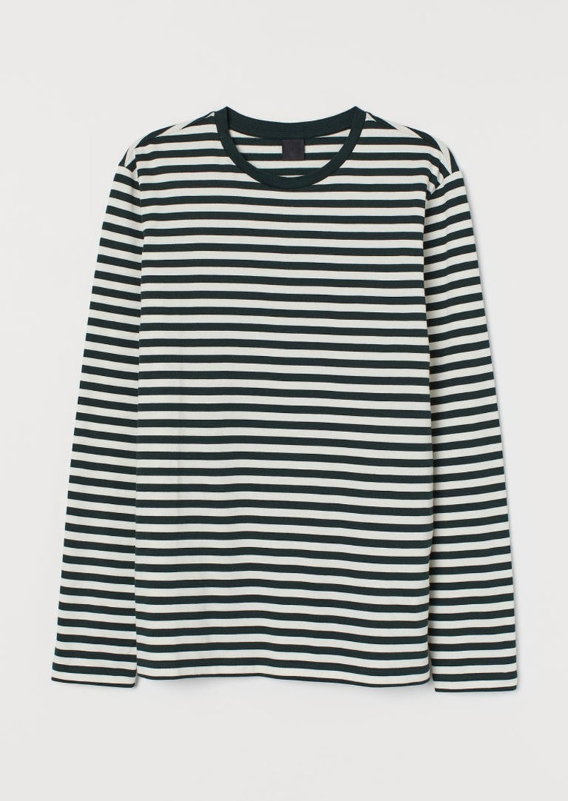 H&M H & M - Striped Shirt - Green