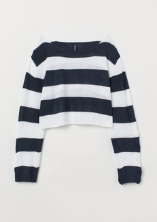 H&M H & M - Striped Sweater - Blue
