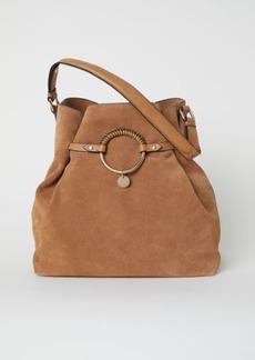 H&M H & M - Suede Bag - Beige