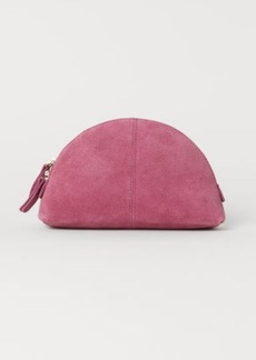 H&M H & M - Suede Makeup Bag - Red