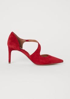 H&M H & M - Suede Pumps - Red