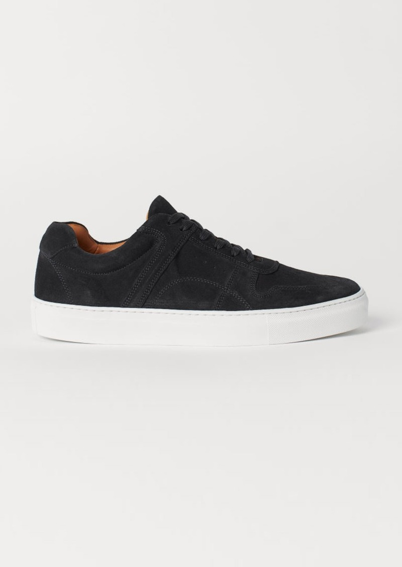 H&M H & M - Suede Sneakers - Blue