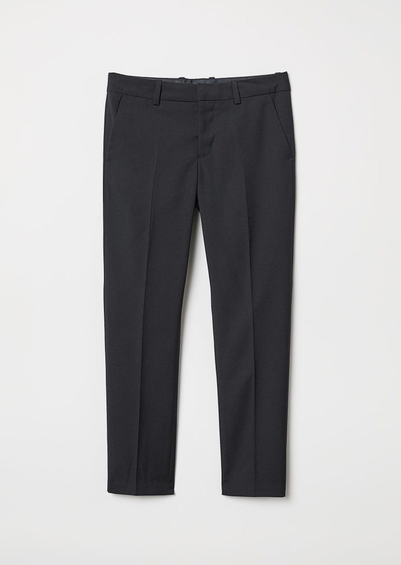 H&M H & M - Suit Pants - Black